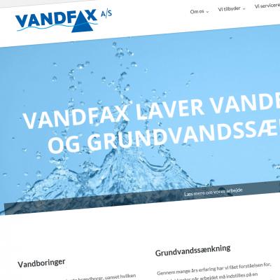 Vandfax
