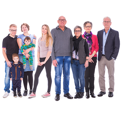 Familiekoncept lavet for Sparekassen for Nørre Nebel og Omegn