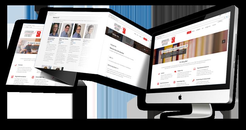 Hjemmeside lavet for Revisionscentret 5R i Esbjerg