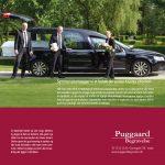 Brochuremateriale lavet for Puggaard Begravelse