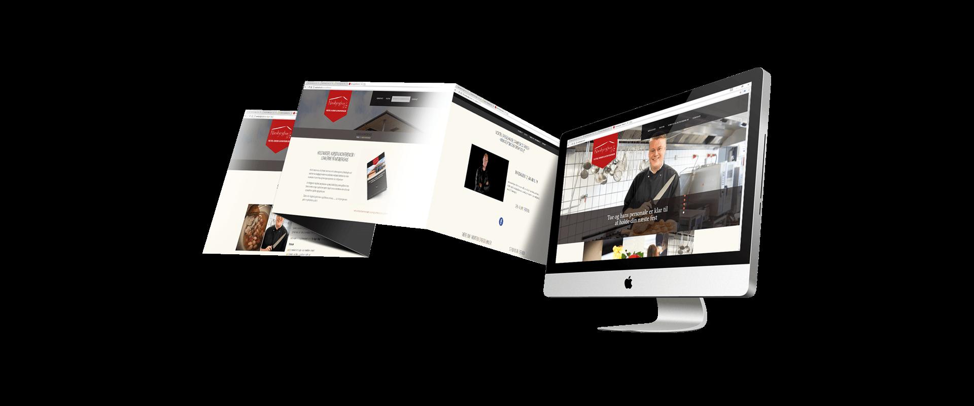Hjemmeside lavet til Næsbjerghus af Creative Signature